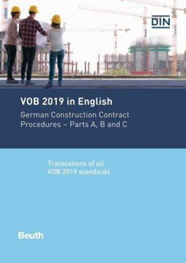 VOB 2019 in English inkl. Ebook - Kombipaket