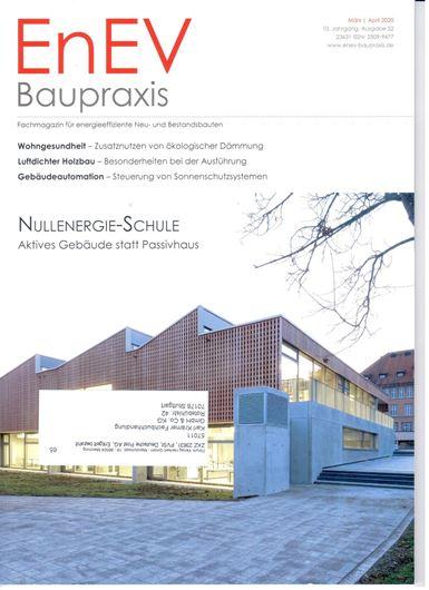 EnEV Baupraxis Heft 52/2020: Nullenergie-Schule