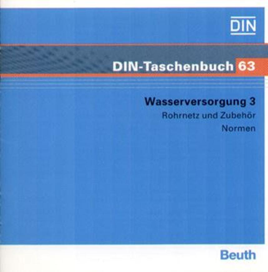 DIN-Taschenbuch 63: Wasserversorgung 3 auf CD-ROM