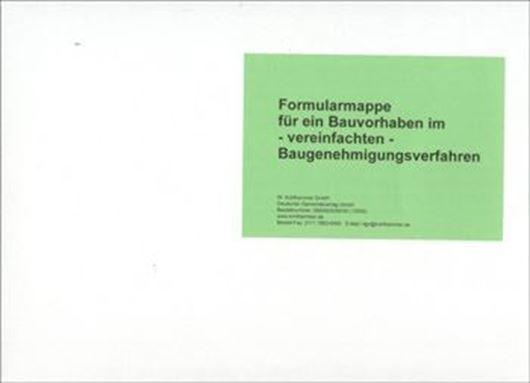 Komplettmappe Baugenehmigungsverfahren / Vereinfachtes Bauge nehmigungsverfahren Baden-Württemberg