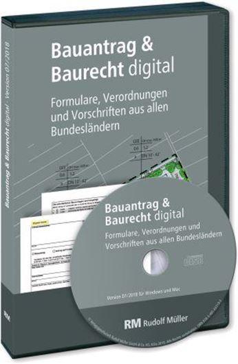 Bauantrag und Baurecht digital CD-ROM Mehrplatzversion -  Grundversion