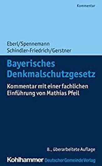 Bayerisches Denkmalschutzgesetz  E-Book