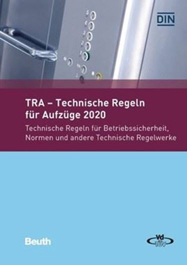 TRA - Technische Regeln für Aufzüge 2020