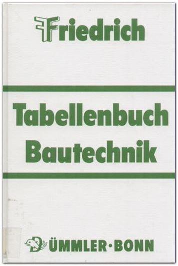 Friedrich - Tabellenbuch Bautechnik