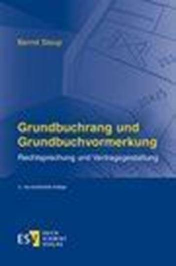 Grundbuchrang und Grundbuchvormerkung