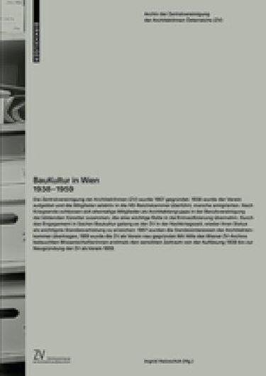 BauKultur in Wien 1938-1959