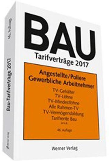 BAU Tarifverträge 2017