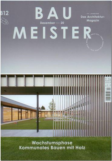 Baumeister 12/2020 Wachstumsphase - Kommunales Bauen mit Holz