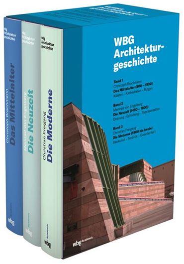 WBG Architekturgeschichte, 3 Bde.