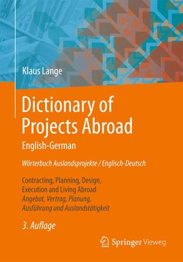 Dictionary of Projects Abroad English-German / Wörterbuch Au slandsprojekte / Englisch-Deutsch