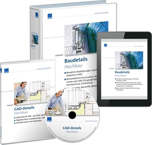 Baudetails Hochbau Premium - Loseblattwerk mit  CD-ROM