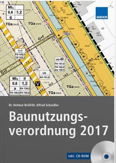 Baunutzungsverordung 2017 inkl. CD-ROM