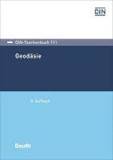 DIN-Taschenbuch Geodäsie Bd. 111