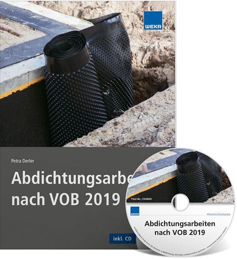 Abdichtungsarbeiten nach VOB 2019 inkl. CD-ROM