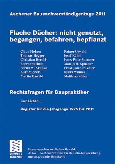 Aachener Bausachverständigentage 2011