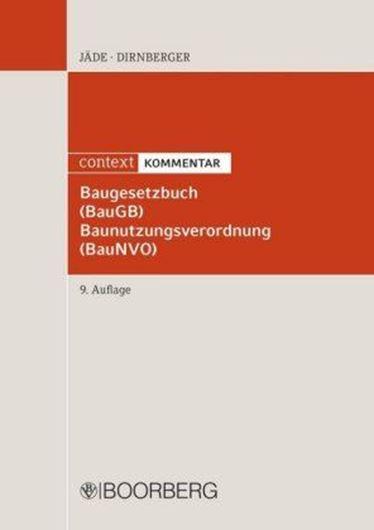 Baugesetzbuch (BauGB), Baunutzungsverordnung (BauNVG), Kommentar