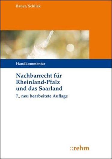 Nachbarrecht (NRR) für Rheinland-Pfalz und das Saarland, Han dkommentar