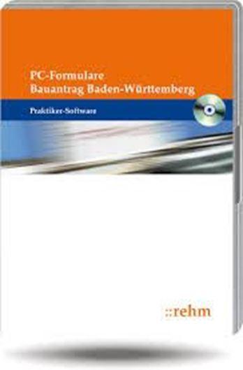 PC-Formulare Bauantrag Baden-Württemberg - CD