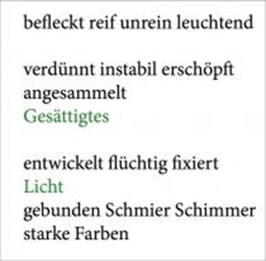 Wolfgang Tillmans. Gesättigtes Licht (Silber-Arbeiten)