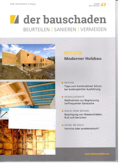 der bauschaden 47: Moderner Holzbau