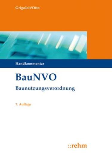 BauNVO - Baunutzungsverordnung