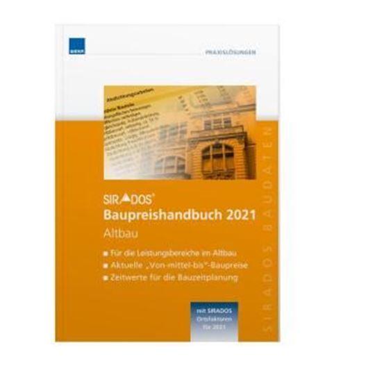 SIRADOS Baupreishandbuch 2021 Altbau .