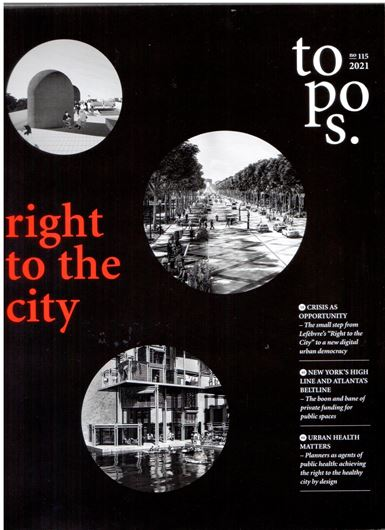 Topos 115: right to the city