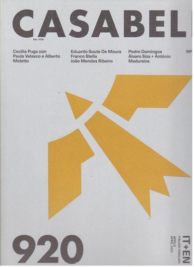 Casabella 920/ April 2021