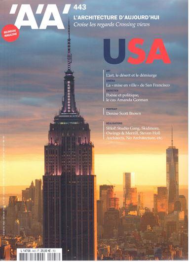 L'Architecture d'aujourd'hui 443: USA